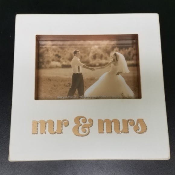 Primitives By Kathy Other Mr Mrs Box Photo Frame Poshmark